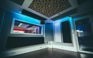 Aufnahmeraum Tonstudio