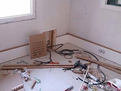 wallbox Tonstudio verloeten