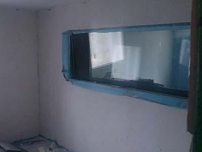 Raum-in-Raum-Konstruktion Regiefenster