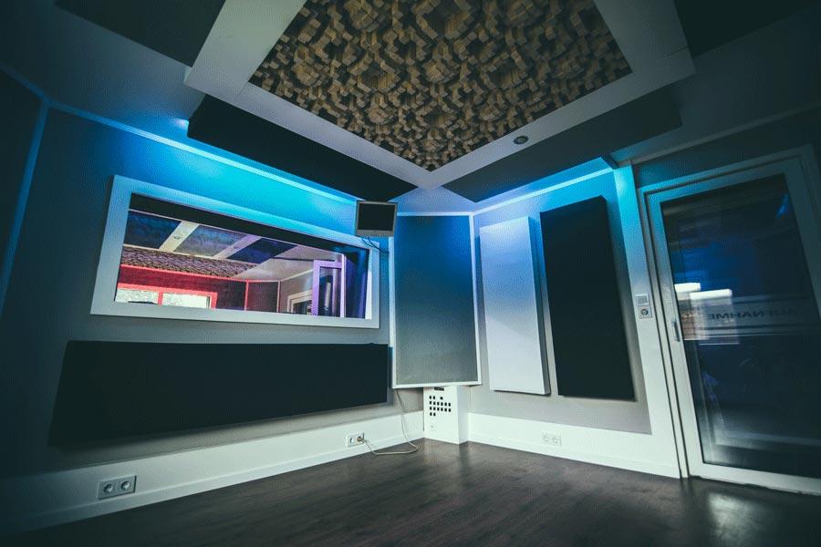 Recording aufnahmeraum Tonstudio